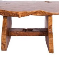 One Kings Lane - Michael S. Smith - Abstract Burl Coffee Table