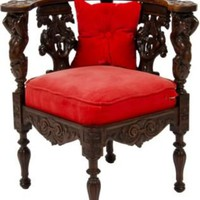 One Kings Lane - Grace Home Furnishings - Antique Corner Chair