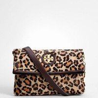 leopard city messenger bag | Tory Burch
