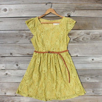 September Haze Dress, Sweet Women&#x27;s Bohemian Clothing
