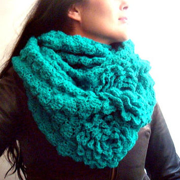 Infinity Scarf Patterns on Pinterest