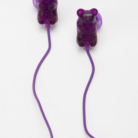 Gummy Bears Earbud Headphones - Purple