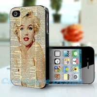 Marilyn Monroe - Apple iPhone 4 Case iPhone 4S Case iPhone Hard Case iPhone 4 Case Cover