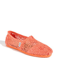 Women's TOMS 'Classic' Crochet Slip-On