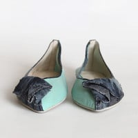 chameleon of love two tone flats - $67.99 : ShopRuche.com, Vintage Inspired Clothing, Affordable Clothes, Eco friendly Fashion