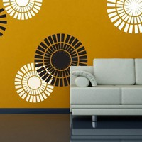 Vinyl Wall Sticker Decal Art  Circle Shapes by urbanwalls on Etsy