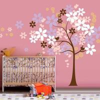 Vinyl Wall Sticker Decal Art  Cutesy Tree in the by urbanwalls