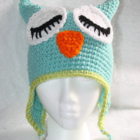 Sleepy Owl Hat on Luulla
