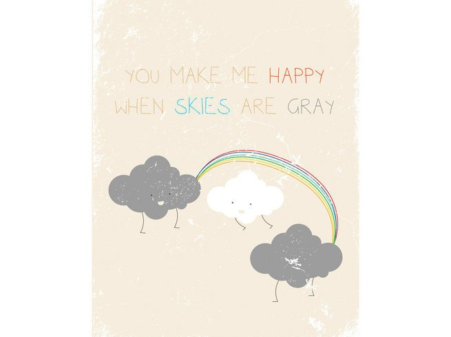 you make me happy | Fresh Words Market