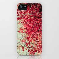 Autum Inkblot iPhone Case by Joy StClaire | Society6