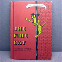 1960 The Fire Cat Vintage Childrens Book by VintageWoods on Etsy