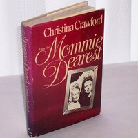 Mommie Dearest by Christina Crawford 1978 Hard Cover Book