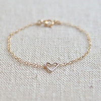 "SHIP FREE ""Mix Twin"" Bracelet (Gold Filled)"