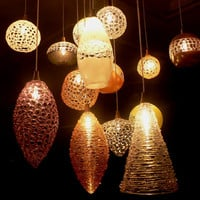 Glass blowing lighting in Artistic Design Alice by LightingDesign