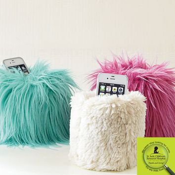 St. Jude® Fur Beanbag Cell Phone Holder