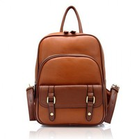 Vintage Style Backpack by Hallomall