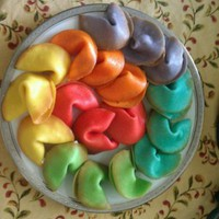 Colors of the Rainbow Fortune Cookies