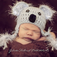 CROCHET PATTERN PDF Koala bear sizes newborn  by CrochetMyLove