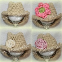 Crochet Baby Cowboy Hat on Luulla