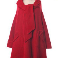 """Little Red Riding Hood"" Trench Cape Coat - Outers - Retro, Indie and Unique Fashion"