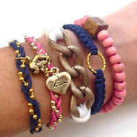 Preppy Wrist Party Set