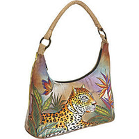 Anuschka Contemporary Hobo-Leopard in Paradise - eBags.com