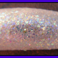 Moonlit Snow Winter Holiday Christmas Nail polish Full size .5 oz.