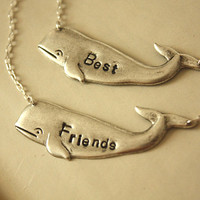 Personalize Your One  Whale silver