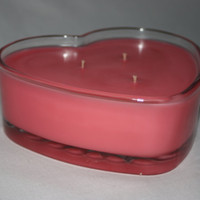 Heart Candle- Pink - Lovespell - 3 Wicked