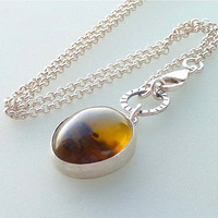 Australian Opalite necklace Desert sunrise opalite by anakim