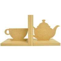 Beyond The Page MDF Tea Cup Bookends-5.5