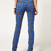 Tripp NYC | Tripp NYC Tartan Skinny Trousers at ASOS