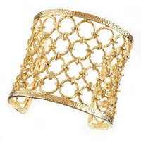 Kendra Scott - Golden Circle Cuff - Last Call