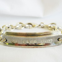 Foundation Vin'tique / Tiffany & Co. I.D. Bracelet, Sterling Silver & Titanium
