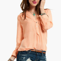 Work Pocket Blouse $54