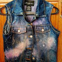 Galaxy Jacket Vest Size S