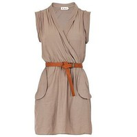 belted wrap dress by kiki's | notonthehighstreet.com