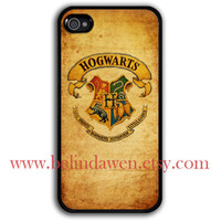 iPhone 4 Case, iphone 4s case, hogwarts iphone 4 case, harry potter