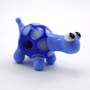Blue Turtle Lampworked Glass Bead Figurine by MercuryGlass on Etsy