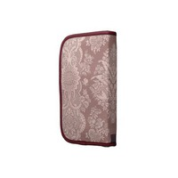 Vintage Floral on Rosy Beige Folio Planner from Zazzle.com