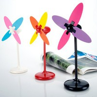 Modern Windmill Shaped USB Fan