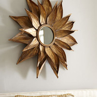 &quot;Golden Petals&quot; Mirror - Horchow