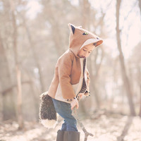 Kids Fantastic Fall Fox Coat by littlegoodall on Etsy