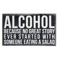 Alcohol Plaque