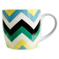 Preppy Chevron Mug