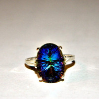 Magic mystic topaz ring
