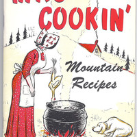 Ma's Cookin' Mountain Recipes, vintage cookbook Home Country cooking
