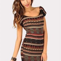 Catalina Eskimo Dress - Multi at Necessary Clothing