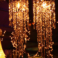 Chandelier by The Junk Gypsy Co.