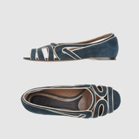 MARNI Women - Footwear - Peep-toe ballet flats MARNI on YOOX United States